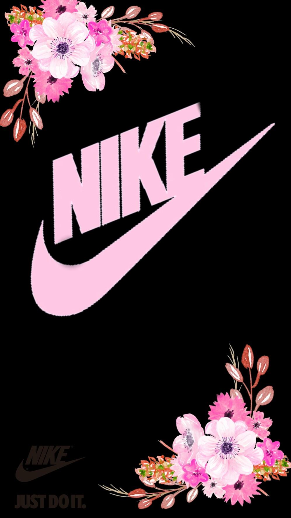 Nike Wallpaper Flores Freetoeditd
