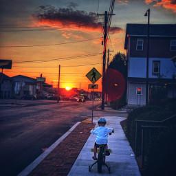 lateafternoon sunset latewalk photography son