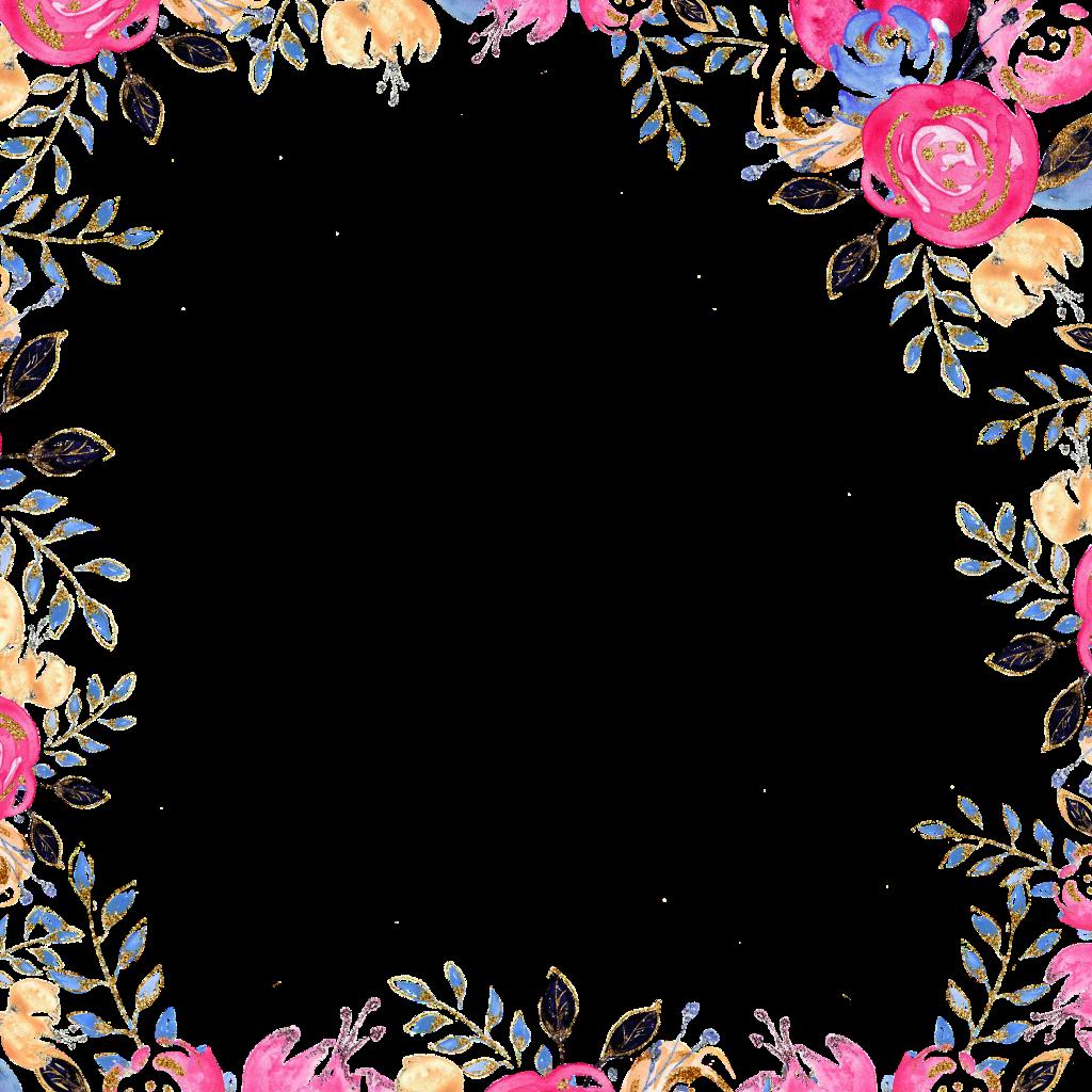 #flowersframe #frame #floralframe #flowersandleaves #flowers #leaves #florals #border #decorative #blossoms #blossomflowers #blüten #blumen #wlka