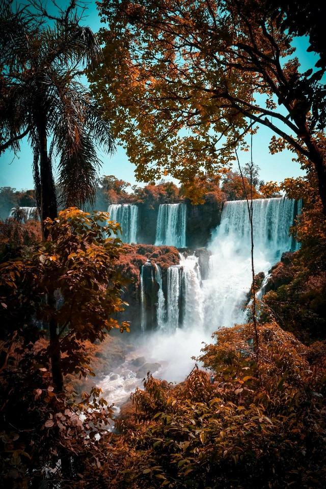 Don't you like water?🌊💙 #nature #waterfall #freetoedit #random #beautiful #aesthetic