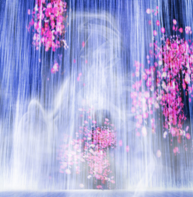 #freetoedit #art #museum #colorful  #waterfall #mori