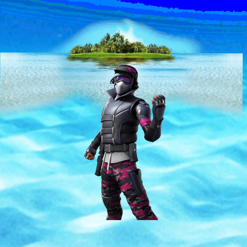 #Fortnite#skin#sea#island#water