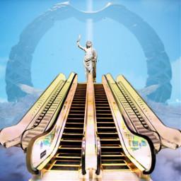 freetoedit zeus mountolympus ircescalatorstoheaven escalatorstoheaven