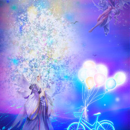 freetoedit magical fairy happy tuesday