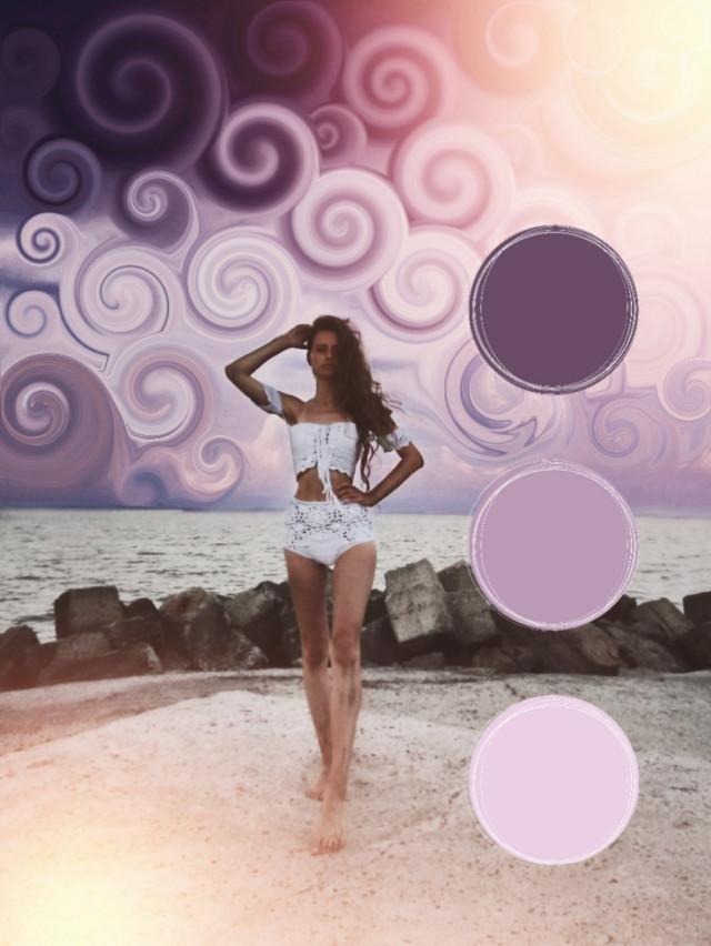 #freetoedit 💜💛💜💛 @pa @freetoedit #myedit #girl #swirl #purple