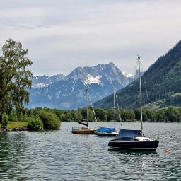 travel austria photography lake mountains zell