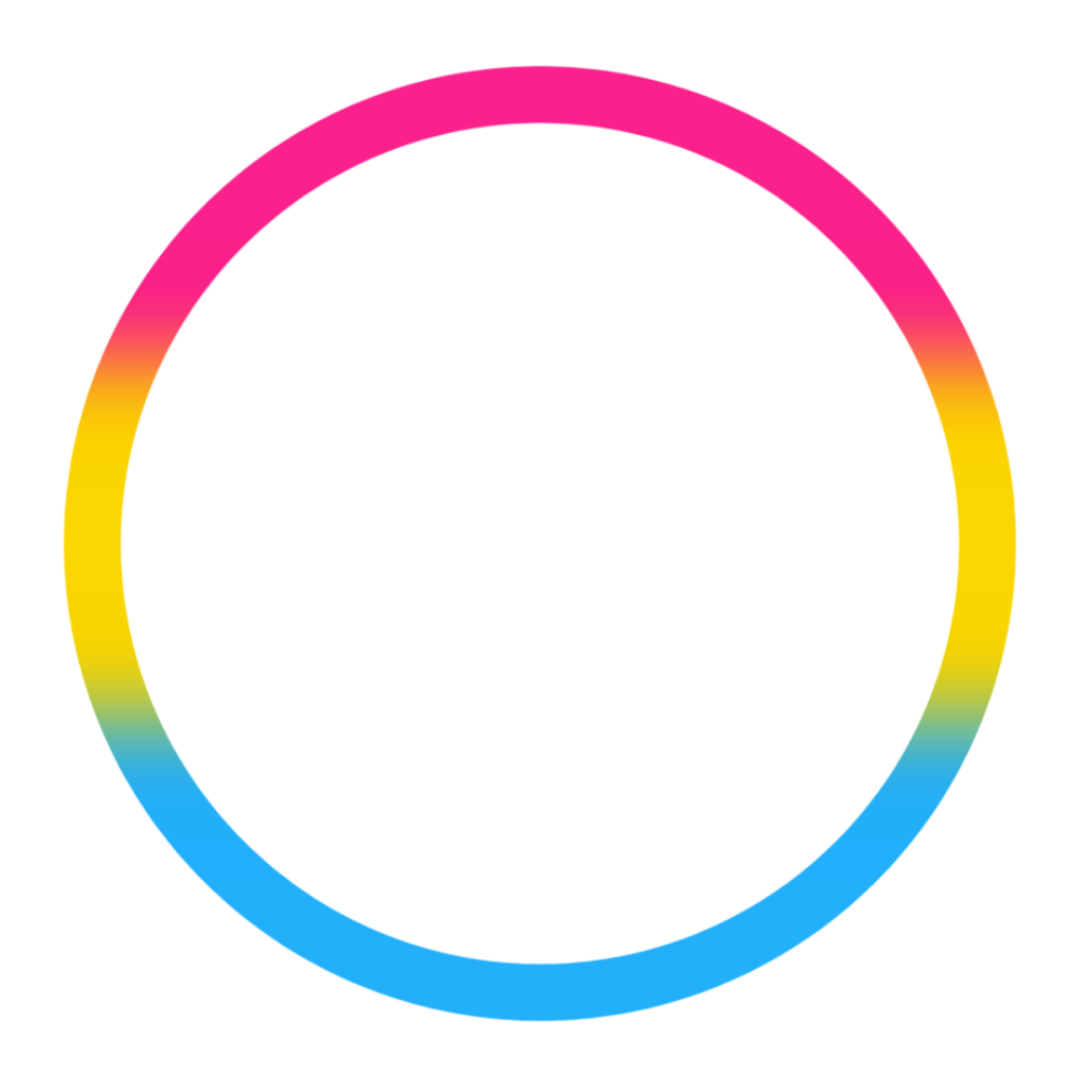 Love Text With Round Colors Of Lgbt
