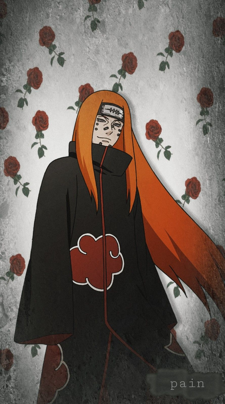 Pain Nagato Naruto Wallpaper Flowers Anime Tumblr