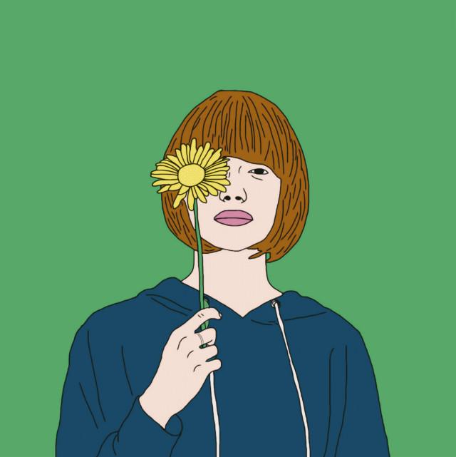 #freetoedit #sunflower #minimal #art #color #palette