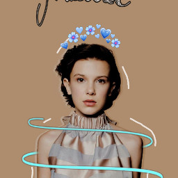 milliebobbybrown thequeen♥ freetoedit thequeen