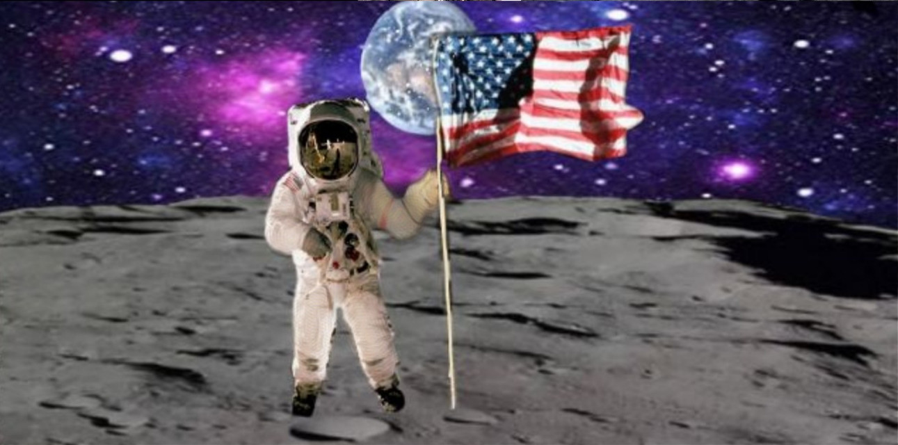 #freetoedit #espace #galxie #lune #usa #50and