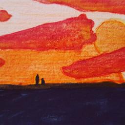 watercolor watercolorpainting smallpainting arts fantasy