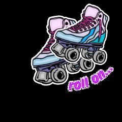 rollerskates skate rollon skating skates freetoedit