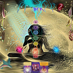 freetoedit chakra tarot tarotcards energy ircwatercolor