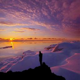 freetoedit remixpicsart silohuette sunsetphotography remixedwithpicsart