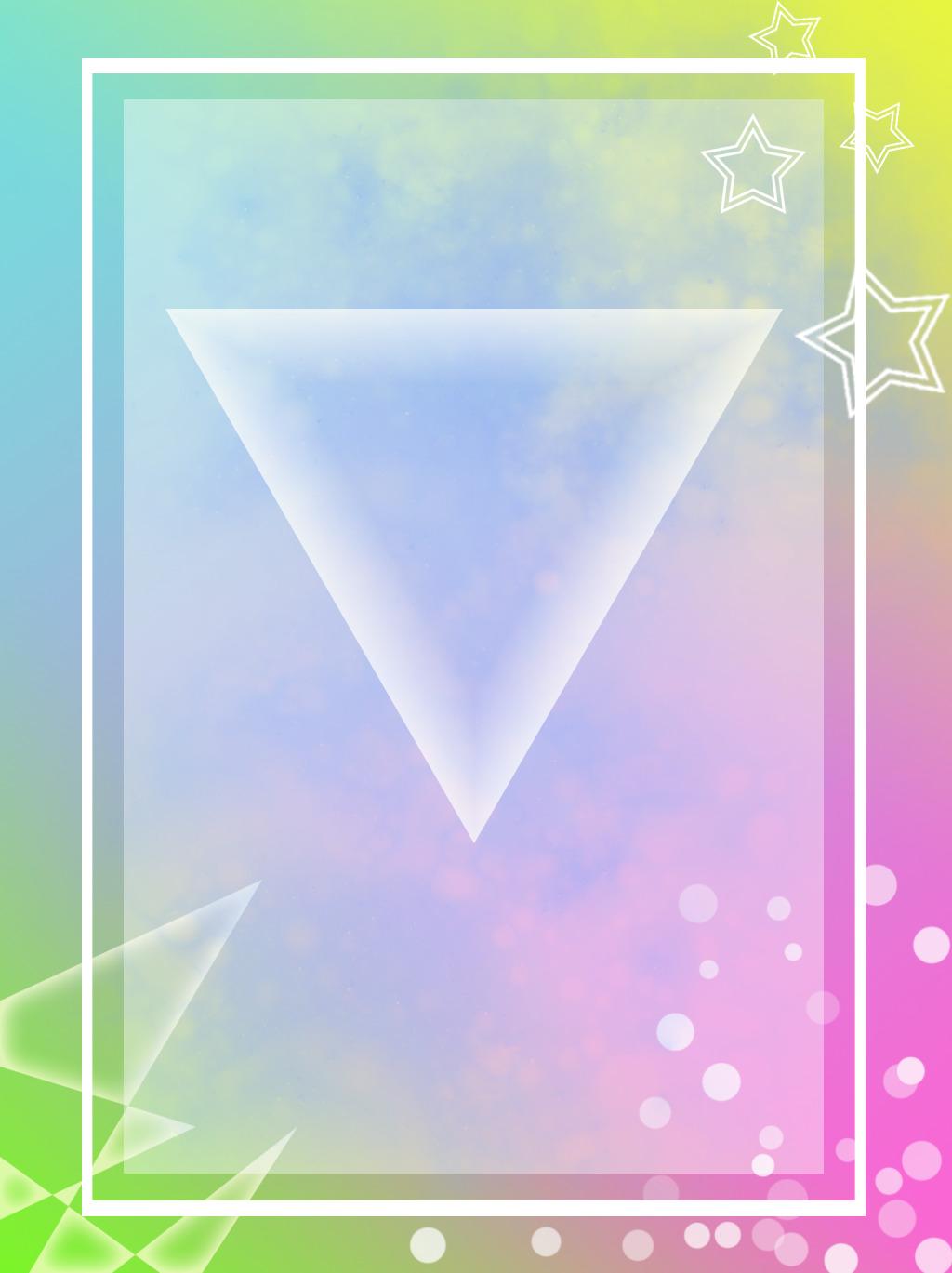 Freetoedit Star Circle Square Triangle Neon Geometri