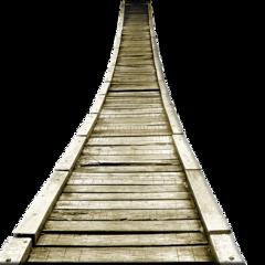 ftestickers bridge wooden freetoedit