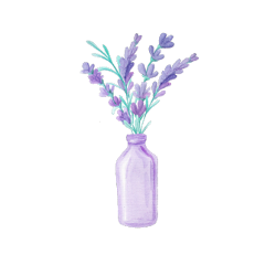 ftestickers watercolor flowers vase vaseofflowers freetoedit