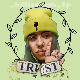 freetoedit new billie eilish billieeilish