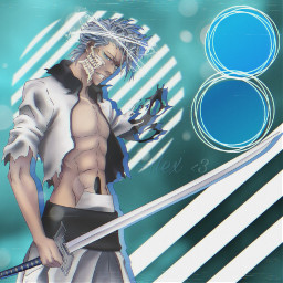 bleach grimmjow animeedit animeboy shonen