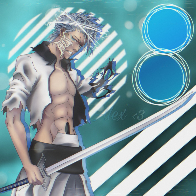 #bleach #grimmjow #animeedit #animeboy #shonen