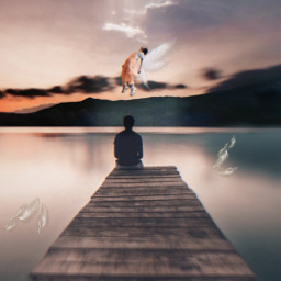 freetoedit manipulation angel surrealismo amazing