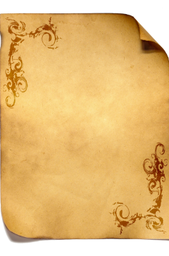ftestickers paper parchment curled vintage freetoedit