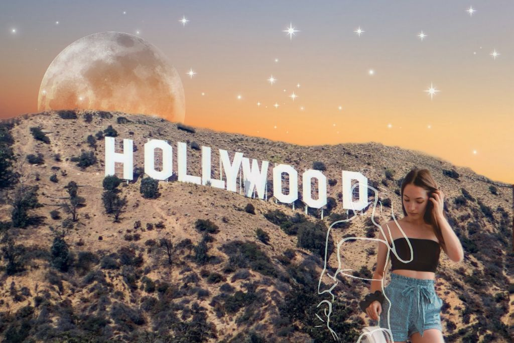 #freetoedit  #irchollywood #hollywood #picsartgold #universo #outline