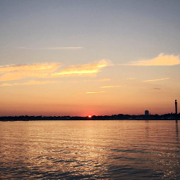 freetoedit sunset sea spettacular naturesbeauty