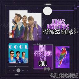 freetoedit jonasbrothers happinessbegins purple love echappinessbegins