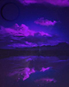 sky purple paradise purplesky galaxy freetoedit