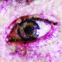 eye galaxy lovepicsarteffect