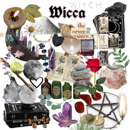 freetoedit moodboard wicca wiccan witchcraft