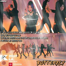 loona butterfly kconla19 freetoedit eckcon2019la