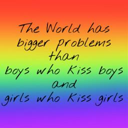 freetoedit rainbow gay lesbian quote