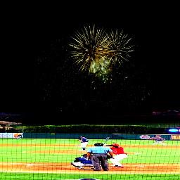 myphotography colorful love baseball mlb