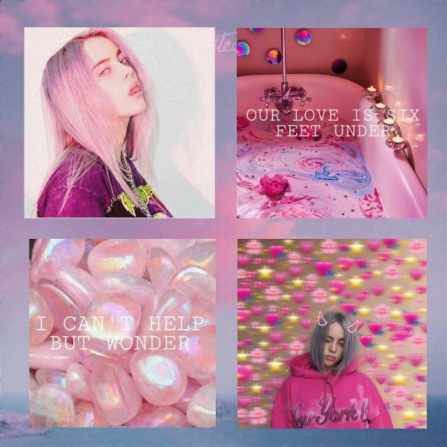 ~Six Feet Under by Billie Eilish  💕💕💕💕💕💕💕💕💕💕💕 #billie #eilish #wallpaper #pink #aesthetic #billieeilish #billieeilishedits #billieilish #color#tumblr #rainbow #sixfeetunder #badguy #whenweallfallasleepwheredowego   #freetoedit