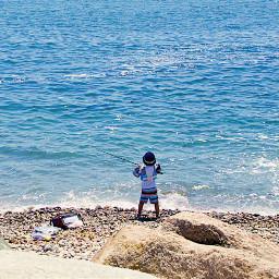 freetoedit outdooradventure atlanticocean fishing alittleboy