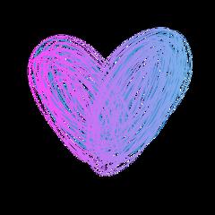 scribble heart freetoedit