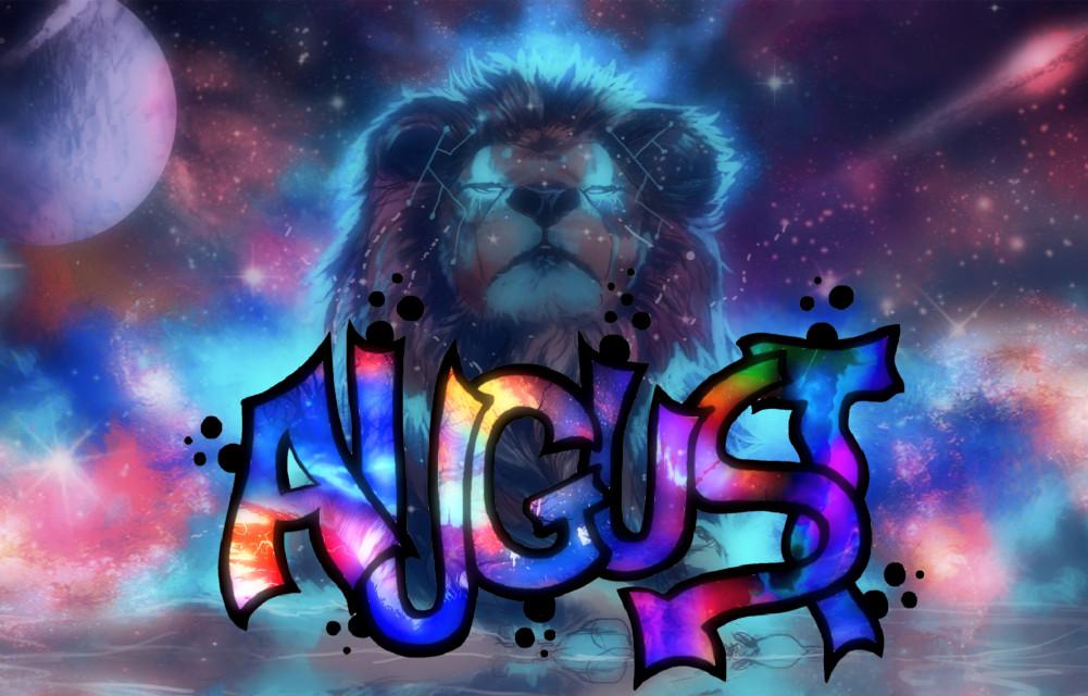 #freetoedit #Leo #Lion #August #Cosmic