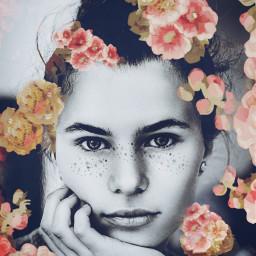 freetoedit face woman girl people