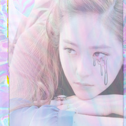 freetoedit holographic f(x) krystal kpop