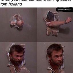 tomholland pointless                                                                                                                                                               alright wall broken marvle