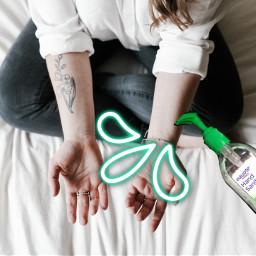 freetoedit remixit sanitizer green