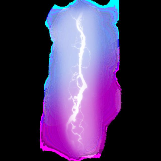 #ftestickers #sky #thunderstorm #lightning #luminous #purple