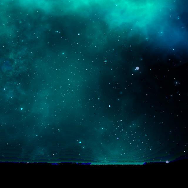 #ftestickers #sky #space #stars #galaxy #green