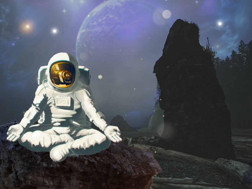 Just a little edit #stickers #galactic #spaceman #freetoedit
