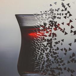 freetoedit crackedglass beautiful red flyingaway