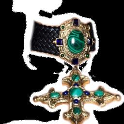 kim necklace kardashian collar cross