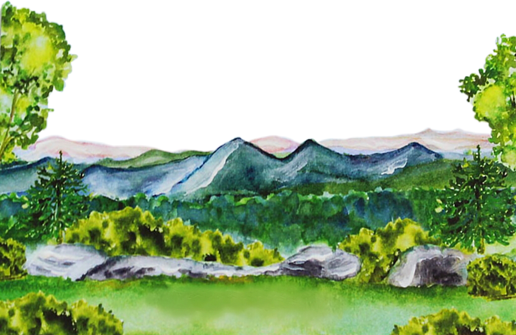 #watercolor #mountains #forest #woods #trees #nature #scenic #outdoors #png